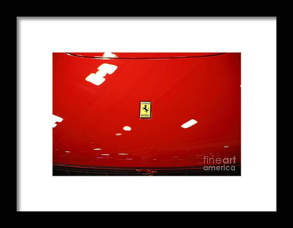 Transportation Framed Print featuring the photograph 1965 Ferrari 275 Gtb 5d26607 by Wingsdomain Art and Photography