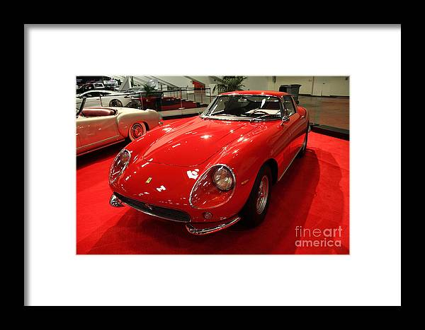 Transportation Framed Print featuring the photograph 1965 Ferrari 275 Gtb 5d26608 by Wingsdomain Art and Photography