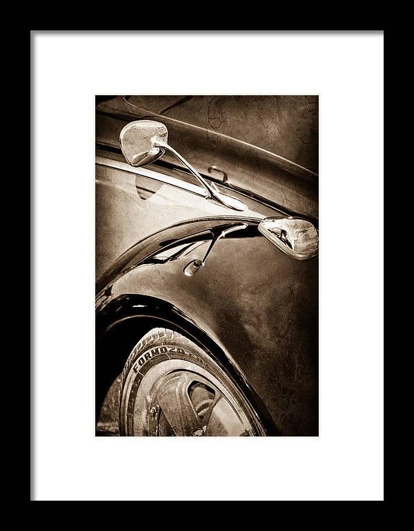 1966 Volkswagen Vw Framed Print featuring the photograph 1966 Volkswagen Vw by Jill Reger