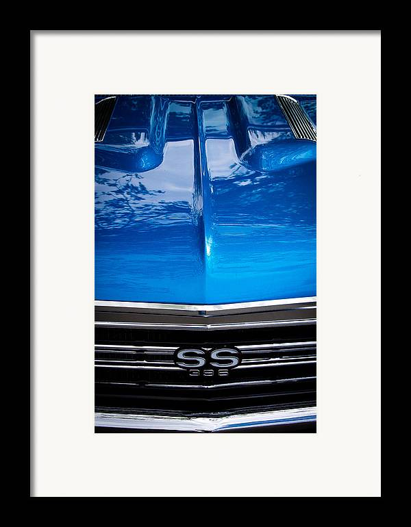 67 Framed Print featuring the photograph 1967 Chevy Chevelle Ss by David Patterson