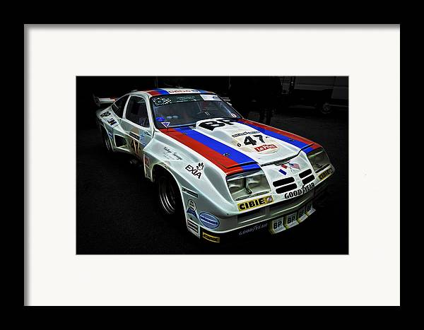 Chevrolet Racecar Framed Print featuring the photograph 1976 Chevrolet Monza Imsa by Phil 'motography' Clark