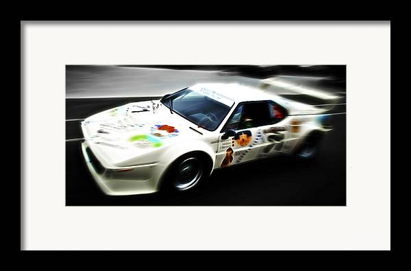 Bmw M1 Framed Print featuring the photograph 1980 Bmw M1 Procar by Phil 'motography' Clark
