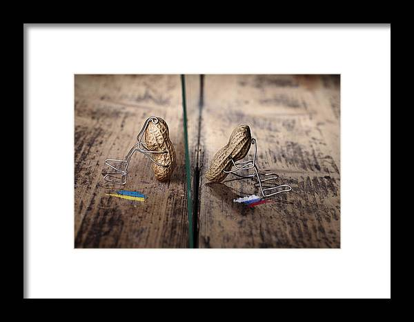 Simple Framed Print featuring the photograph Apart by Nailia Schwarz