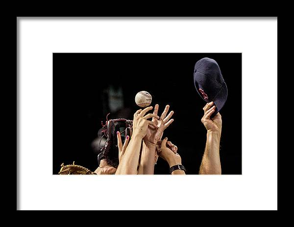 American League Baseball Framed Print featuring the photograph Arizona Diamondbacks V Boston Red Sox by Billie Weiss/boston Red Sox