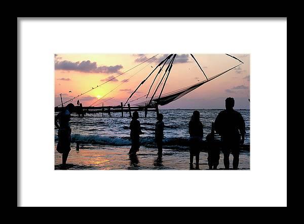 Arabian Sea Framed Print featuring the photograph Asia, India, Kerala, Kochi (cochin by Steve Roxbury