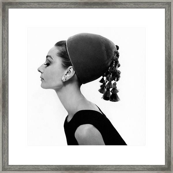 Audrey Hepburn Pose Weekender Bag