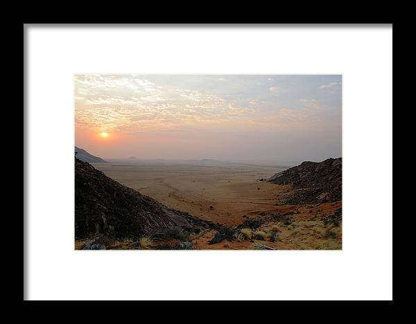 Travel Framed Print featuring the photograph Aus Namibia by Riana Van Staden