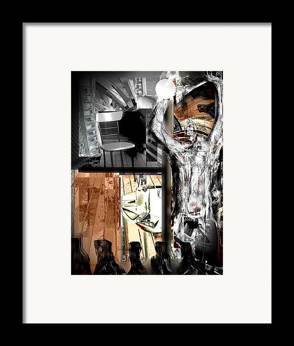 Before The Afterlife Framed Print featuring the mixed media Before The After Life by Rc Rcd