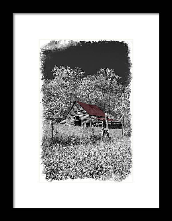 Appalachia Framed Print featuring the photograph Big Red by Debra and Dave Vanderlaan