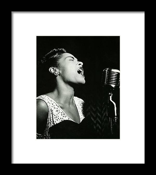 classic Framed Print featuring the photograph Billie Holiday by Retro Images Archive