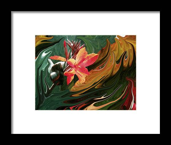 Bird Of Paradise Framed Print featuring the photograph Bird Of Paradise 3 by Jim Darnall