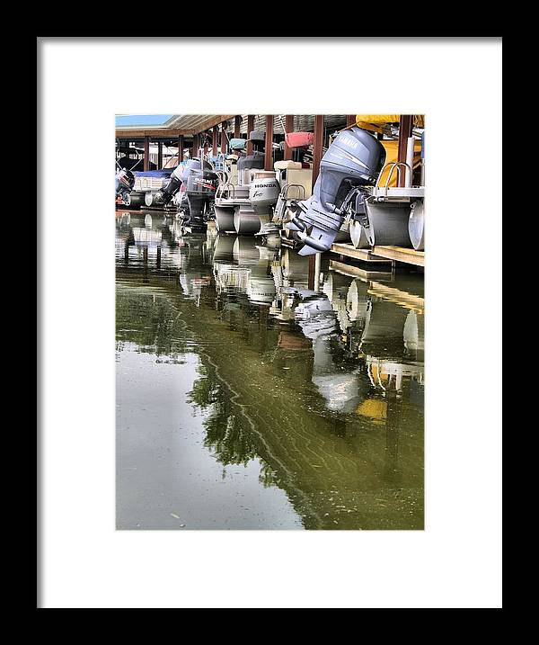 Boating Framed Print featuring the photograph Boating by Dan Sproul