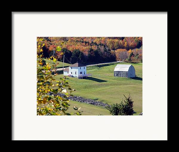 Capstick Framed Print featuring the photograph Capstick Village by George Cousins
