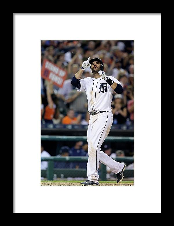 People Framed Print featuring the photograph Chicago White Sox V Detroit Tigers by Duane Burleson