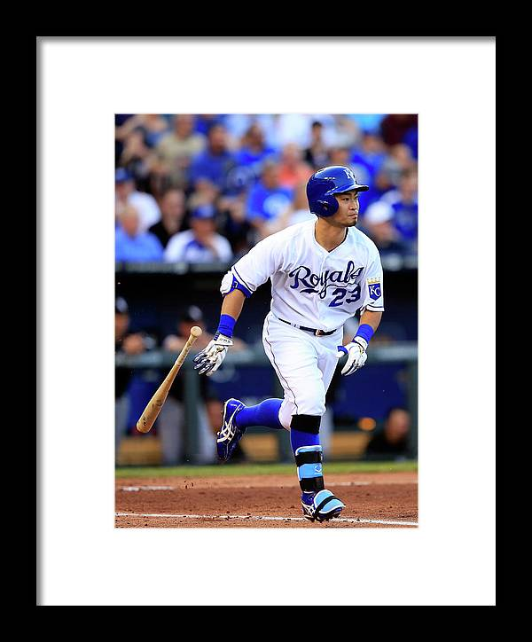 American League Baseball Framed Print featuring the photograph Chicago White Sox V Kansas City Royals 2 by Jamie Squire