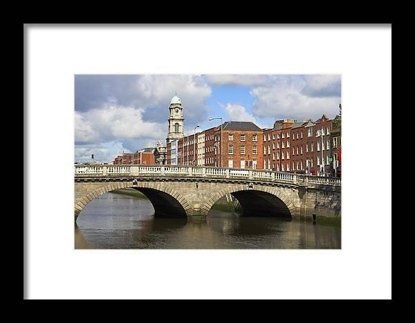 Apartment Framed Print featuring the photograph City Of Dublin by Artur Bogacki