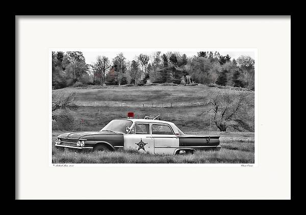 Automobile Framed Print featuring the photograph Classic Cruiser by Richard Bean