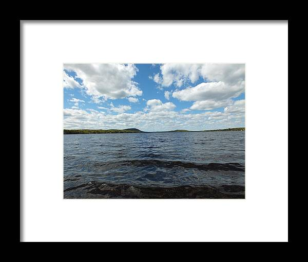 New England Framed Print featuring the photograph Clearing Sky by Gene Cyr