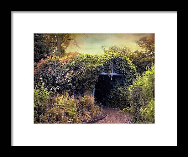 Nature Framed Print featuring the photograph Country Charm by Jessica Jenney