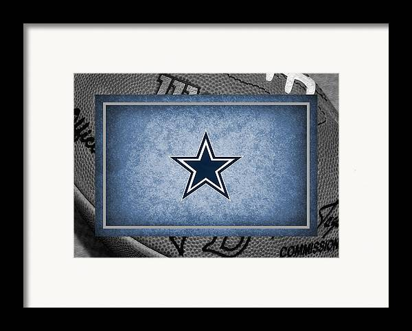 Cowboys Framed Print featuring the photograph Dallas Cowboys by Joe Hamilton