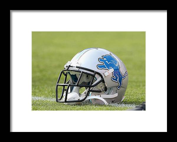 Candlestick Park Framed Print featuring the photograph Detroit Lions v San Francisco 49ers by Ezra Shaw