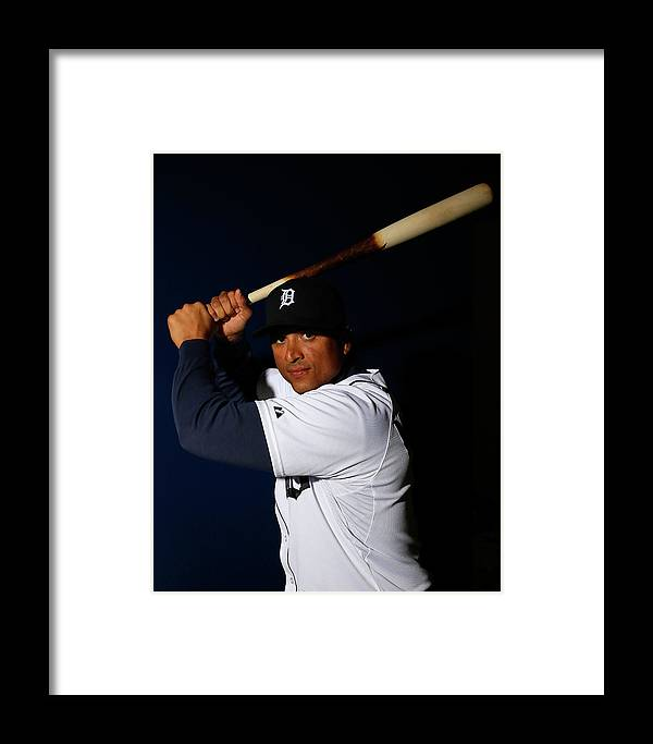 Media Day Framed Print featuring the photograph Detroit Tigers Photo Day 2 by Kevin C. Cox
