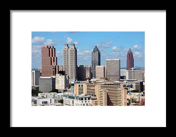 191 Peachtree Tower Framed Print featuring the photograph Downtown Atlanta by Bill Cobb