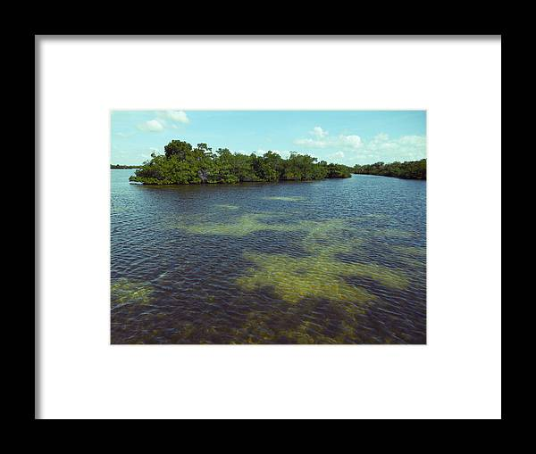 Swflsunsetscenery Framed Print featuring the photograph Flats by Tracy Barnard