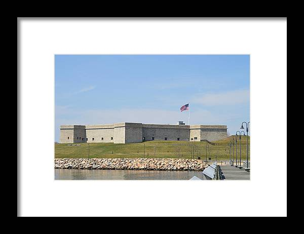 Fort Framed Print featuring the photograph Fort Trumbull by Jessica Cruz