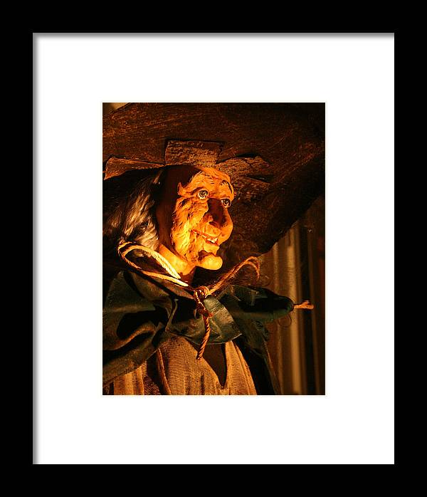 Fright Night Framed Print featuring the photograph Fright Night 2 by Ellen Henneke