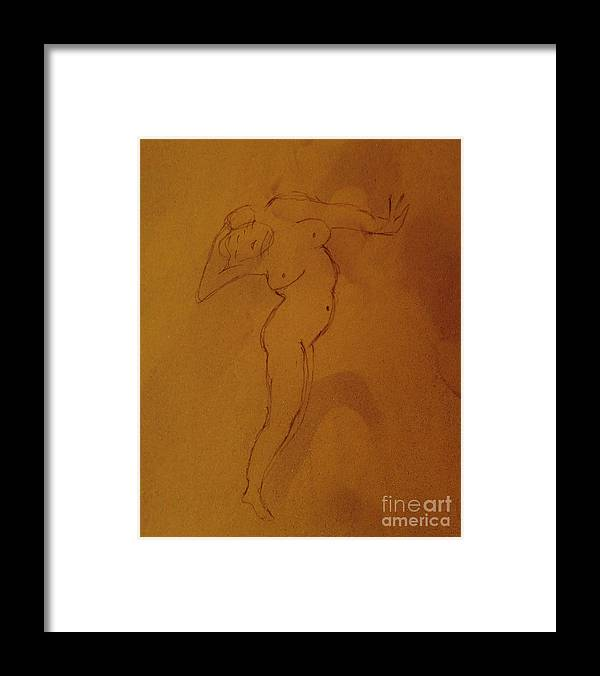 Hell Framed Print featuring the drawing Gates Of Hell by Patricia Januszkiewicz
