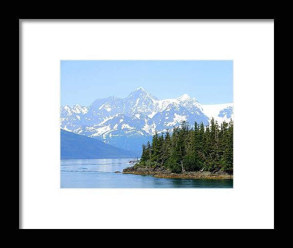 Alaska Framed Print featuring the photograph Glacier 7 by Lew Davis