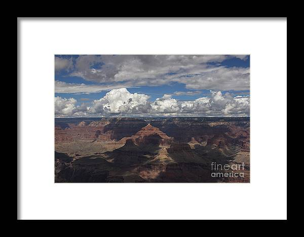 Grand Canyon Framed Print featuring the photograph Grand Canyon by Shishir Sathe