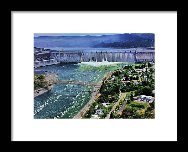 Grand Framed Print featuring the photograph Grand Coulee by Benjamin Yeager