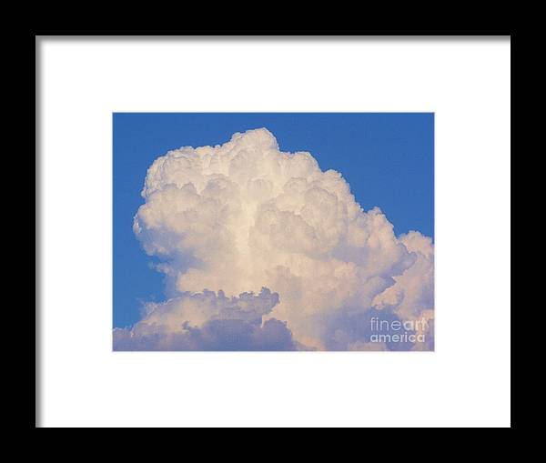 Skyscape Framed Print featuring the photograph Infinity by Diane Miller