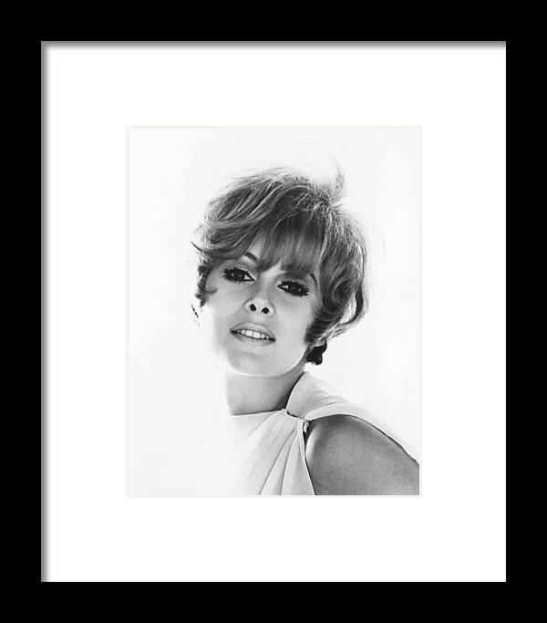 Jill St. John Framed Print featuring the photograph Jill St. John by Silver Screen