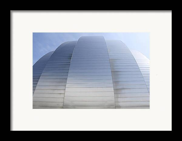 Architecture Framed Print featuring the photograph Kauffman Center For Performing Arts by Mike McGlothlen