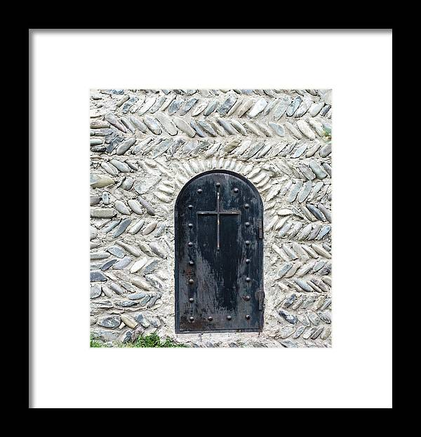 Arch Framed Print featuring the photograph Medieval Door by ????? ???????