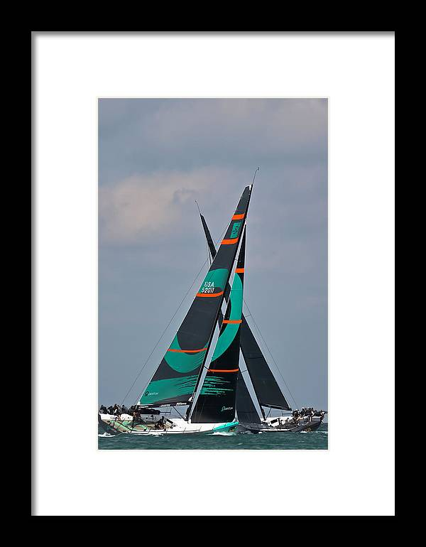 Miami Framed Print featuring the photograph Miami Upwind by Steven Lapkin