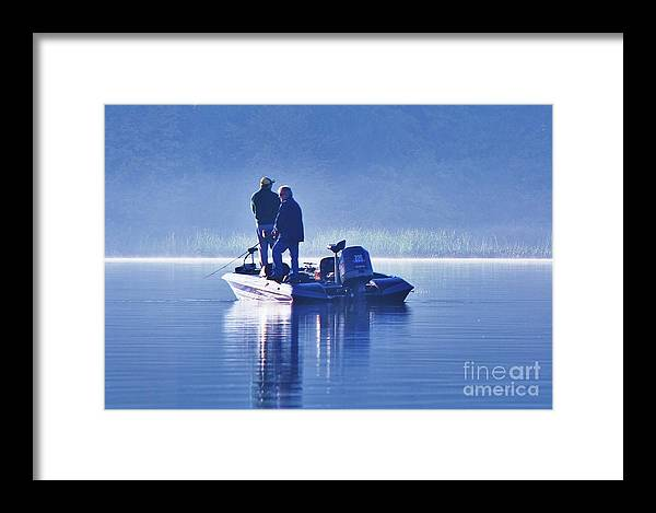 Misty Framed Print featuring the photograph Misty Morning by Al Fritz