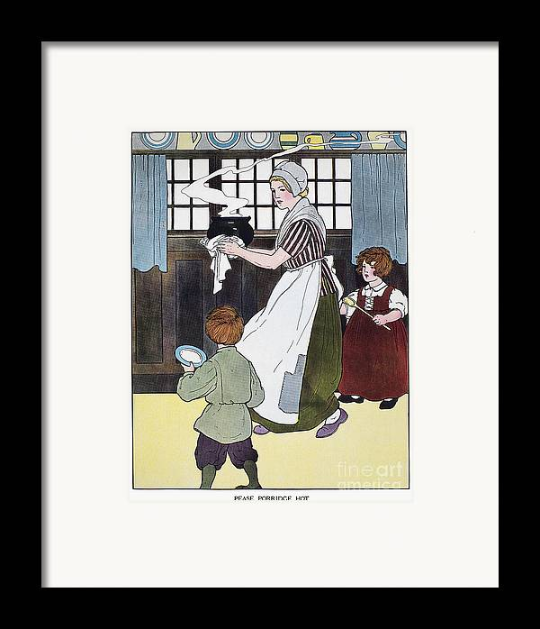 1916 Framed Print featuring the photograph Mother Goose, 1916 by Granger