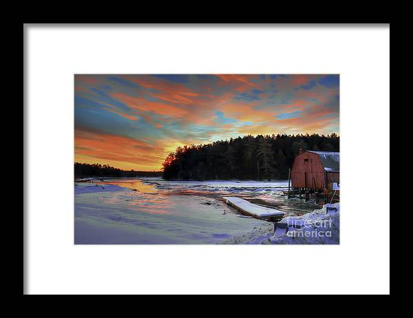 Dawn Framed Print featuring the photograph New Day Dawning by Brenda Giasson