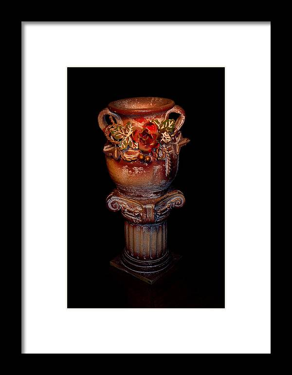 Object Framed Print featuring the photograph Object Of Art by Ilir Papavangjeli