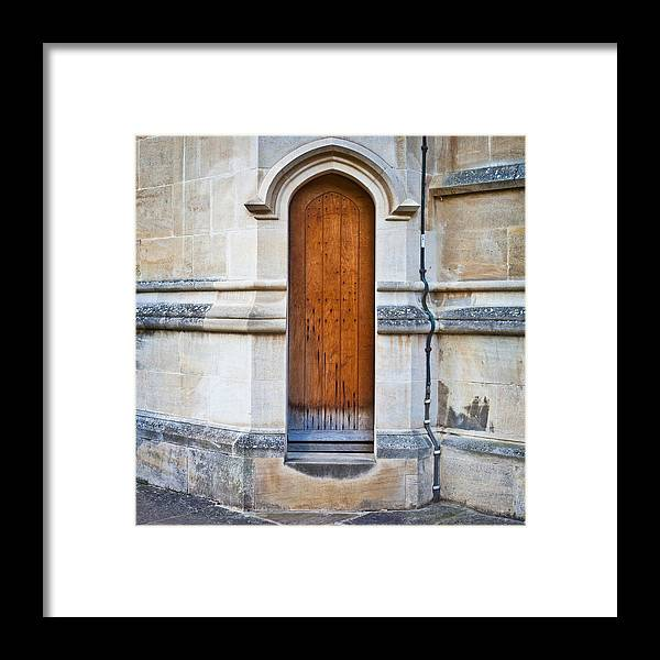 Access Framed Print featuring the photograph Old Door by Tom Gowanlock
