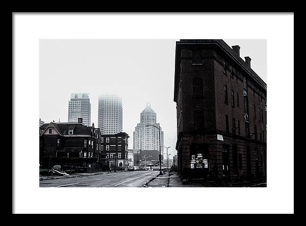 Old Hartford Framed Print featuring the photograph Old Hartford by Gregory Alan