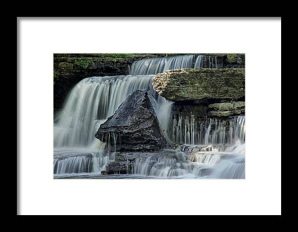 Old Stone Fort Framed Print featuring the photograph Old Stone Fort by Diana Powell
