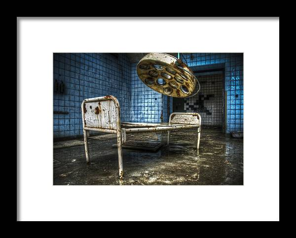 Beelitz Framed Print featuring the digital art Operation Time by Nathan Wright