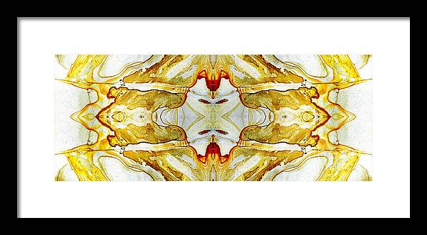 Abstract Framed Print featuring the photograph Patterns In Stone - 150 by Paul W Faust - Impressions of Light