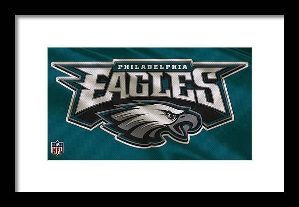 Eagles Framed Print featuring the photograph Philadelphia Eagles Uniform by Joe Hamilton