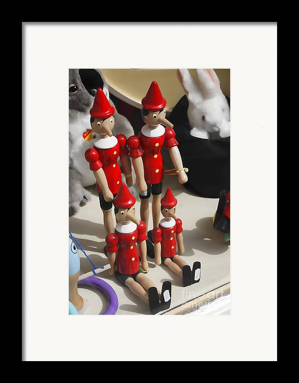 Pinocchio Framed Print featuring the photograph Pinocchio by Craig B